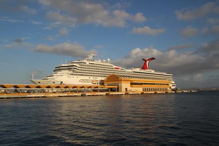 Из Сан-Хуана уходят круизные лайнеры к Карибским островам