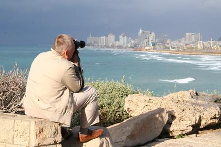 На горизонте Тель-Авив