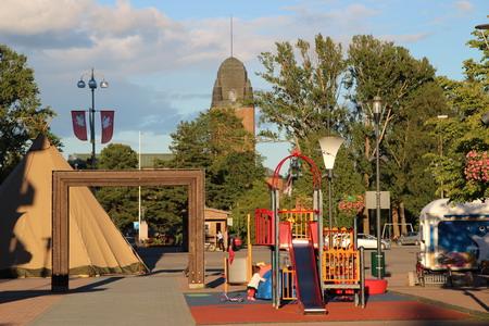 Детская площадка на Торговой площади