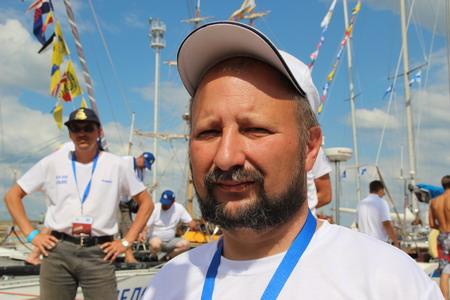 Юрий Яцук, капитан яхты «Альянс»