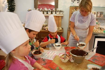 Детский шоколадный мастер-класс