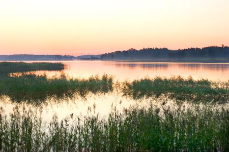 Озеро в окрестностях Эспоо