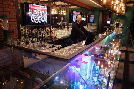 Знаменитая барная стойка