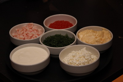 Ингредиенты для приготовления скагена