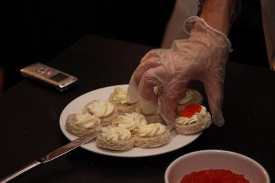 Приготовления закуски «кайса»