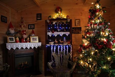 Рождественский домик гномов