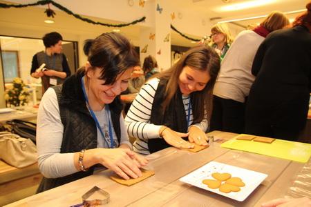 Изготовление имбирного печенья