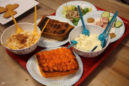 Набор традиционных финских рождественских блюд