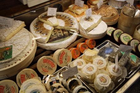 Отдел шведских сыров