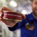 Обед настоящего космонавта
