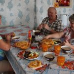 Казан-кебаб и теертнек с талканом