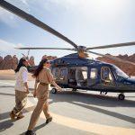Экскурсия на вертолете в Аль-Уле